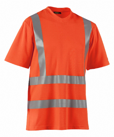Blaklader 3380 High Visibility T-Shirt (Orange)